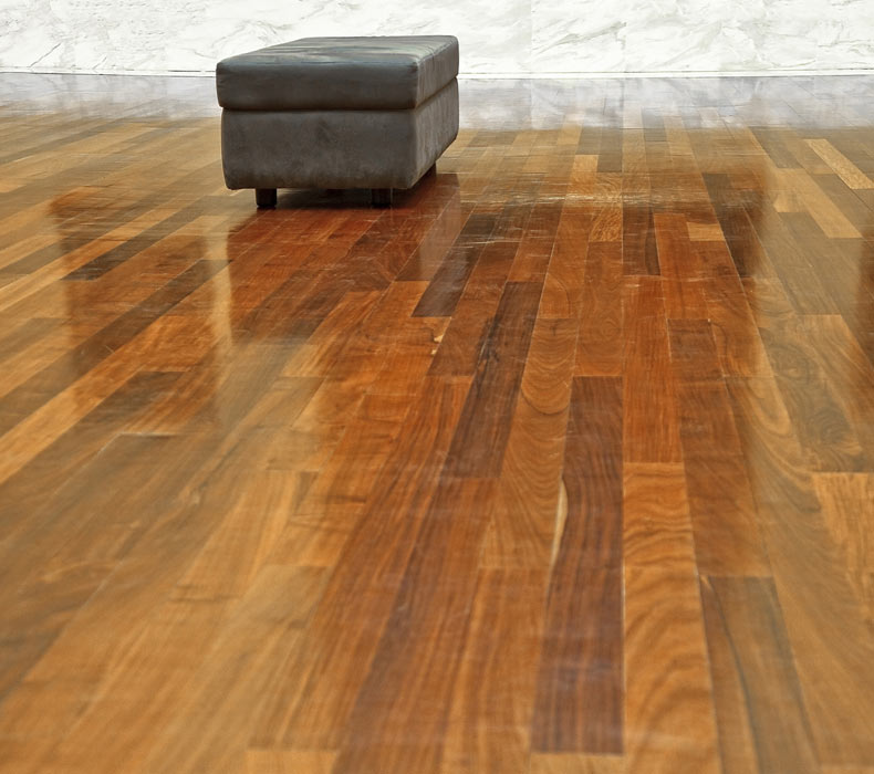 flooring brown